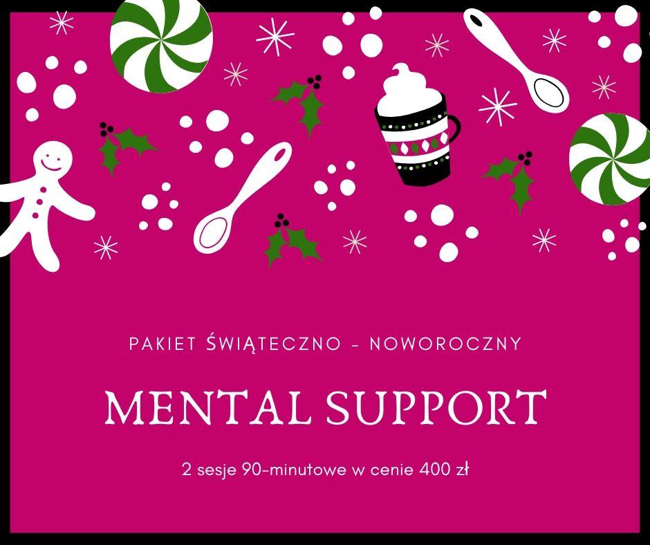 Pakiet Świąteczno – Noworoczny MENTAL SUPPORT